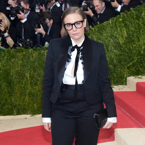 Lena Dunham at the 2016 Met Gala