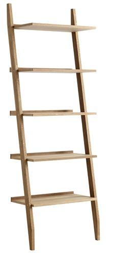 Unique Riva Ladder Riva Ladder Shelving Unit With 5 Shelves Oak Michael O Connor Furniture