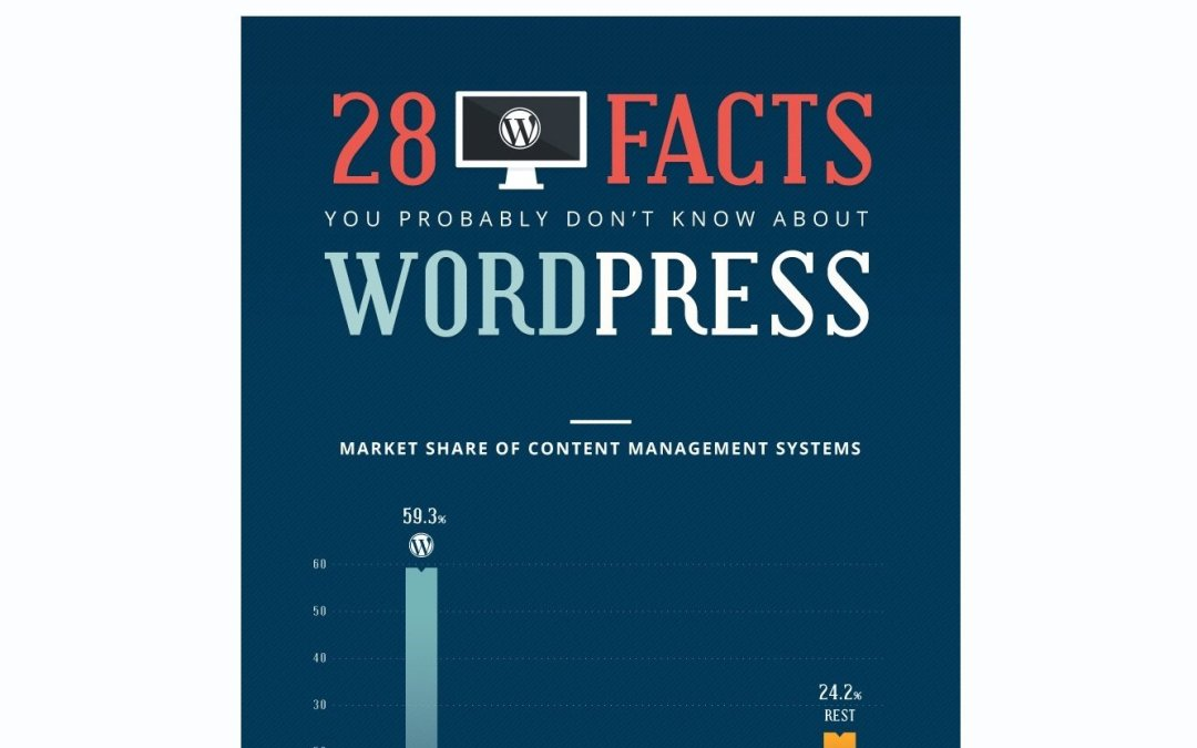 """Review of """"28 Facts You Probably Don't Know About WordPress"""" infographic"""