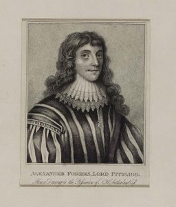 Alexander, 4th Lord Forbes of Pitslgio. Original in NLS