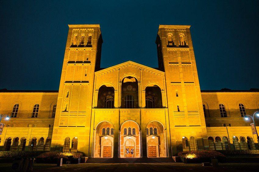 graduation photos at UCLA
