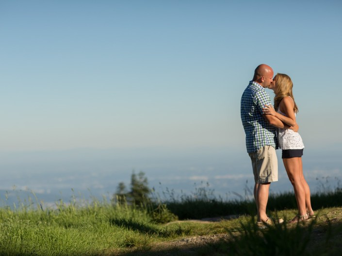 grouse mountain surprise engagement