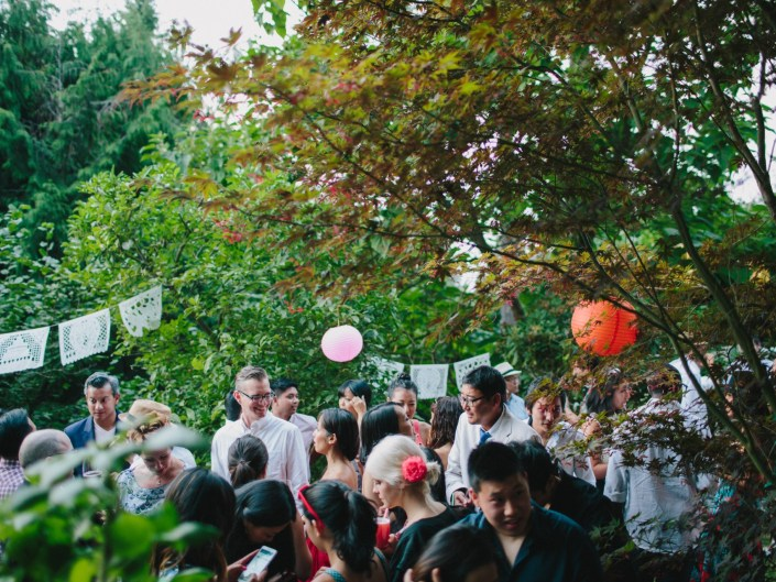 backyard wedding reception vancouver