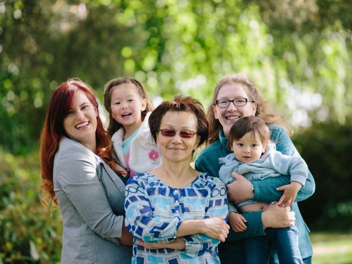 family portraits queen elizabeth park