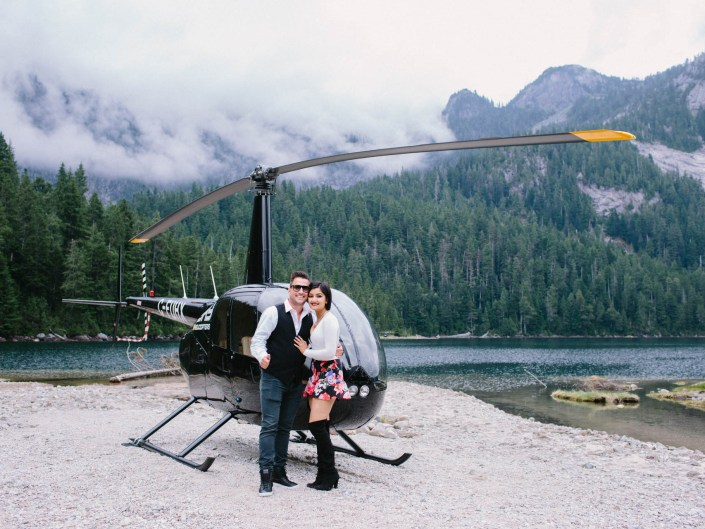 vancouver helicopter engagement