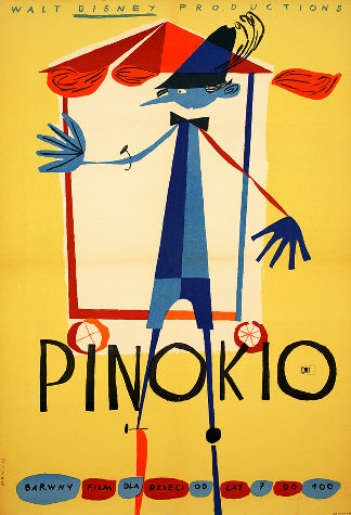 couldn t find it for snow white but found one for pinocchio it actually does illustrate the film but is still pretty stylish