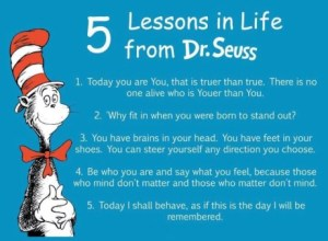 Providence Life Coach Life Lessons Featured on Good Enough Mother! - 5 lessons in life from dr-seuss