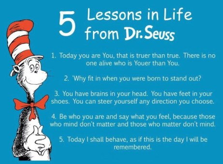11 Reasons Why You Should Never Hide How Weird You Are -Providence Life Coaching and Reiki Counseling - 5 lessons in life from dr-seuss1