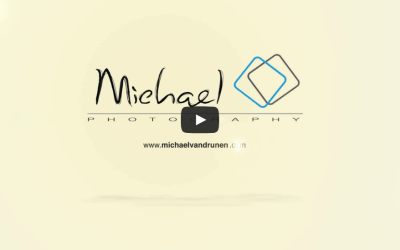 Michael Photography logo video intro