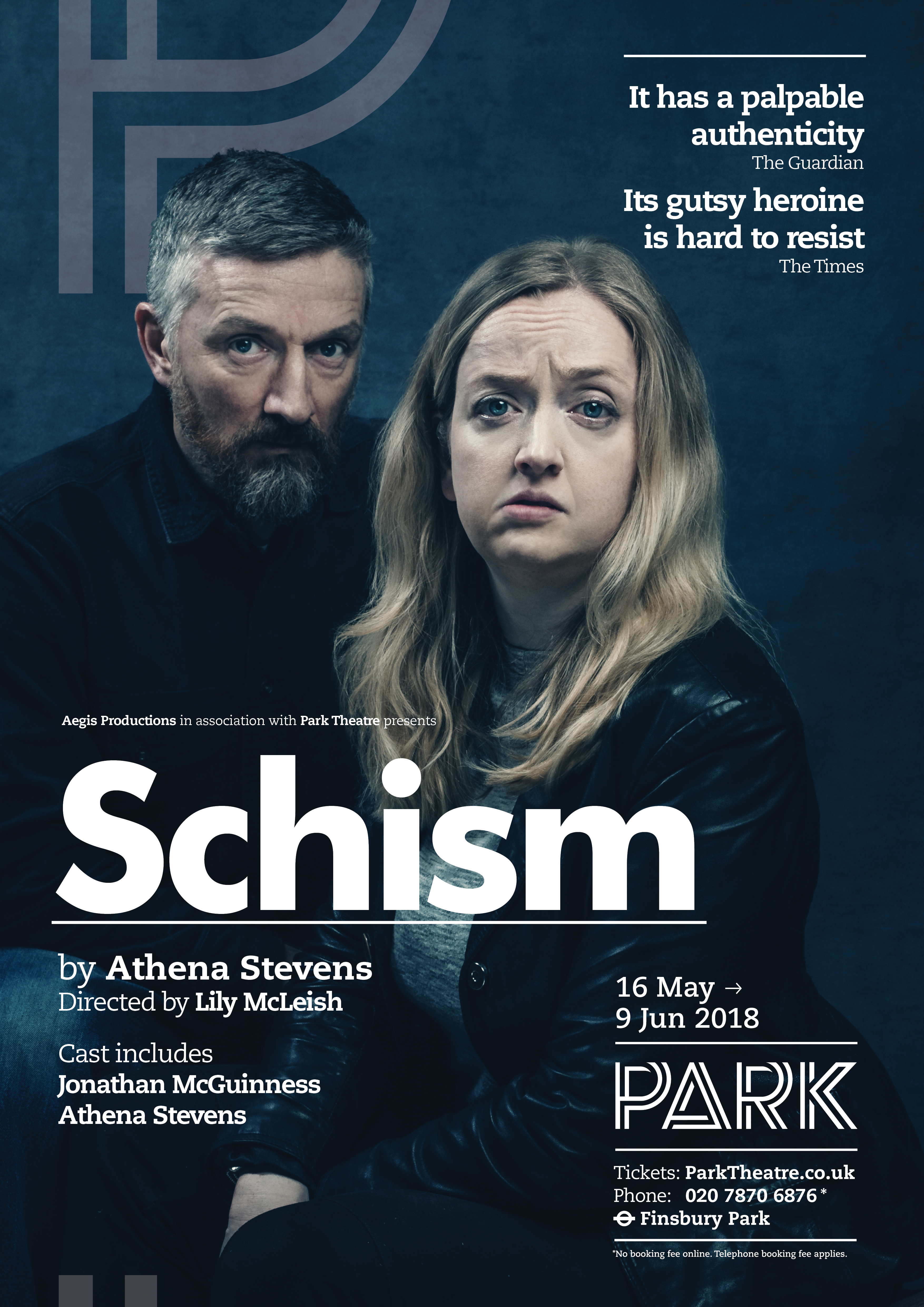 Schism for the Park Theatre
