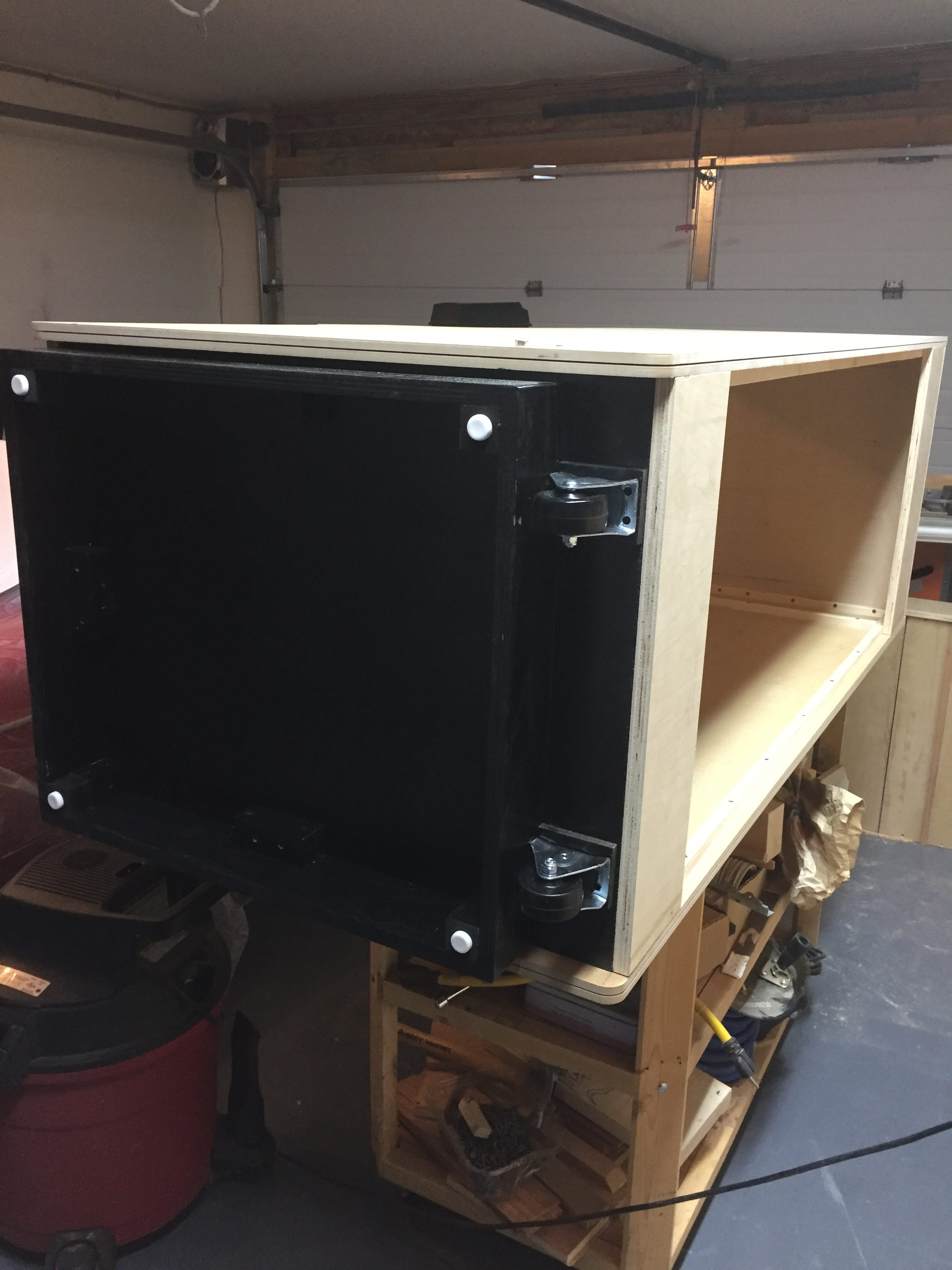 Donkey Kong Arcade Machine - Casters Attached