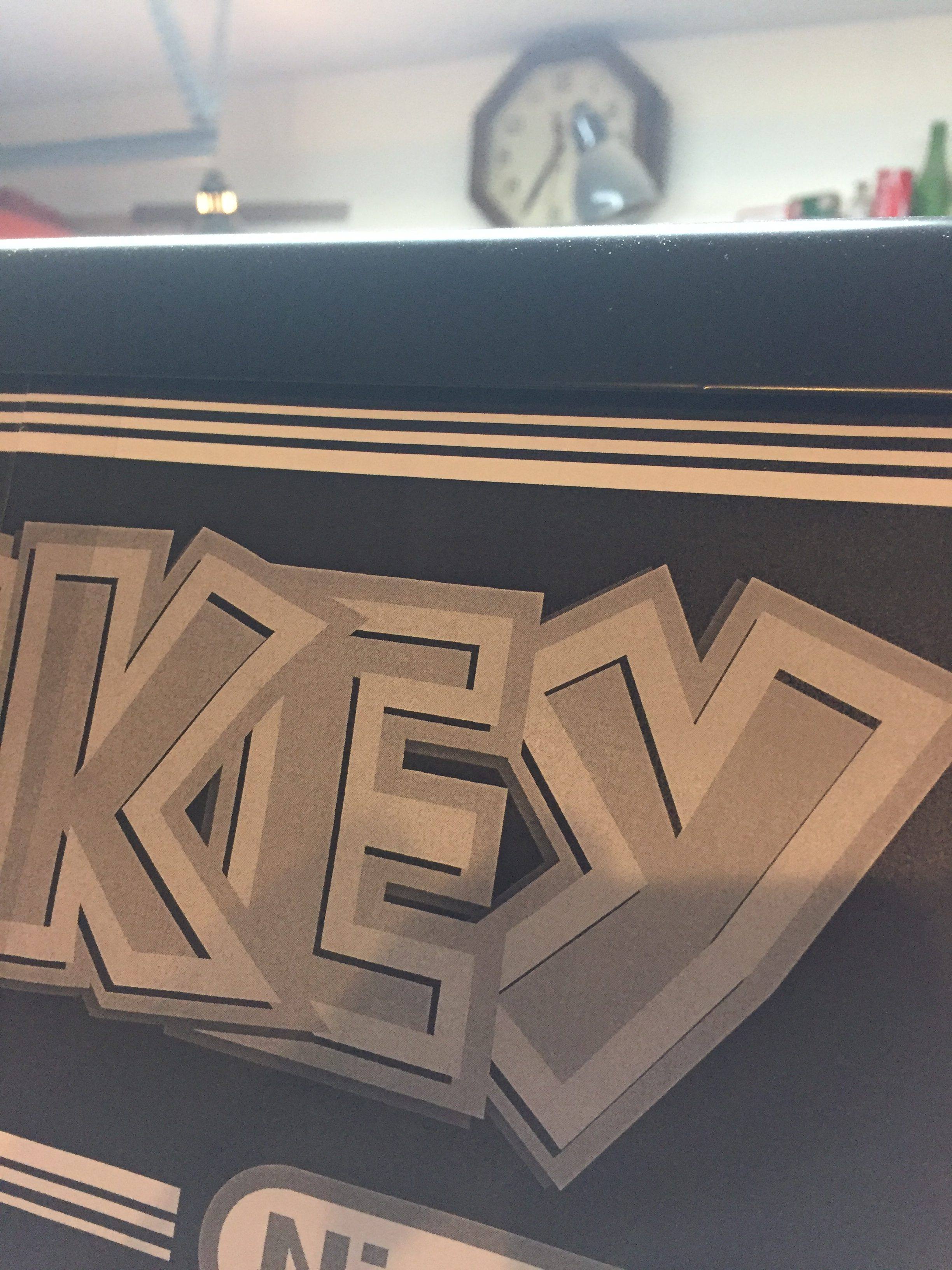 Donkey Kong Arcade Machine: Marquee Close-up