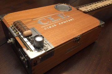 CLE Cigar Box Guitar Build