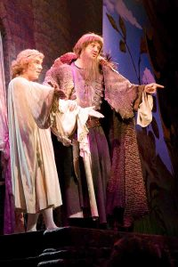 Michael as Father In Spamalot! With Gerard Carey