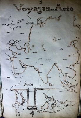 Michal Korman: Voyages en Asie, frontispicium