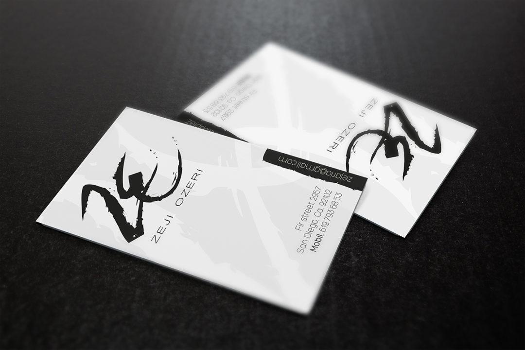 Zeji Ozeri Business card