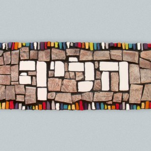 home signs mosaic work by michalozdesign