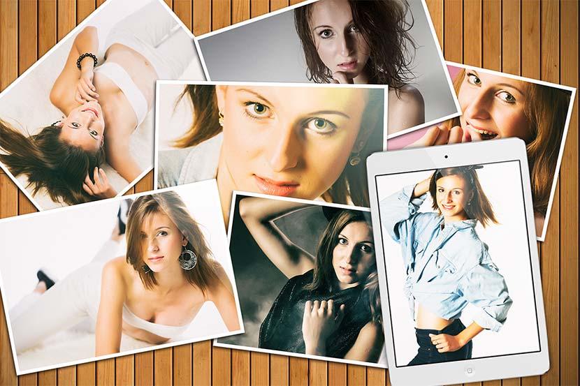 Úžasné fotky / Fotobook pro modelku