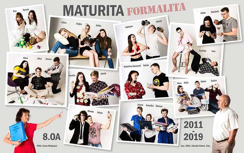 Maturitní tabla / Michal Pavlásek Uherské Hradiště
