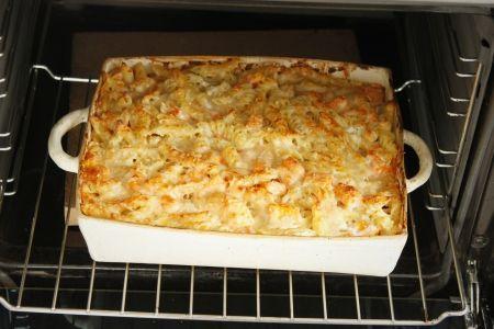 מכת חום / מאפה פסטה עם גבינות ודלעת