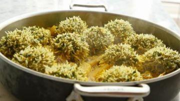 מכת קוצים / קיפודי אורז ובשר פרסיים לחג
