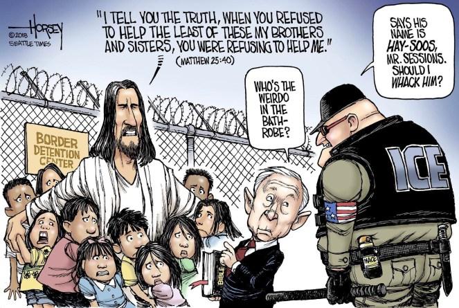 Jesus at the Border: Matthew 25