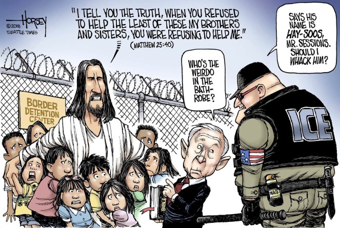 Jesus at the Border: Matthew 25