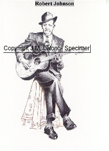 Dessin de Robert Johnson
