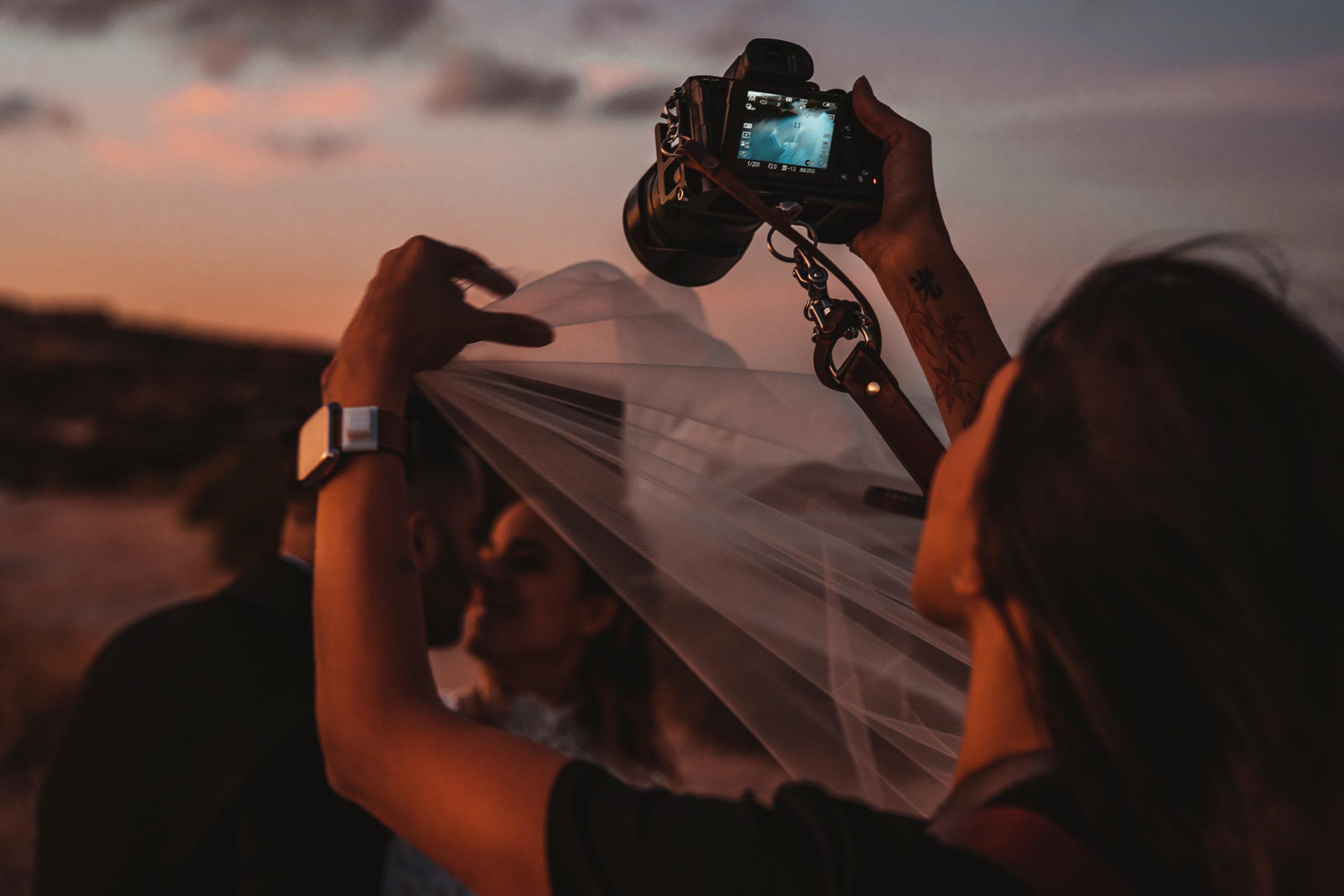 Michela Medda fotografa un matrimonio a Cagliari