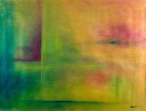 Ölbild von Raphael Walenta aus dem Jahr 2007 Ohne Titel © by Raphael Walenta