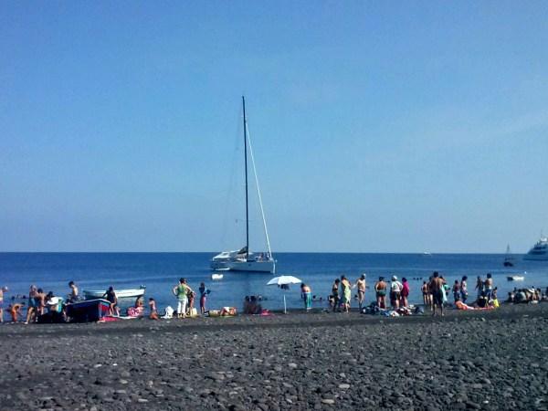Spiaggia san Vincenzo Stromboli - Foto di Michela Arnò