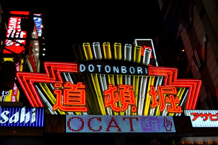 Dotonbori, Osaka © michelarno.it