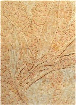 Bois -Micro-collages 12 x 17cm - VENDU