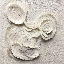 Micro-collages 15x15 cm - Vendu