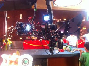 3D with Red Epic cameras on Triangle Jib