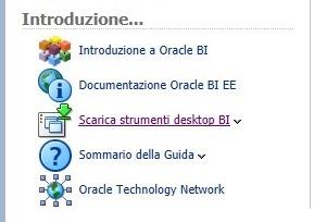 oracle bi scaricare client desktop