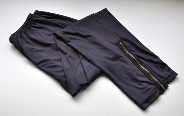 DIY leggings into pouch pencil case 1