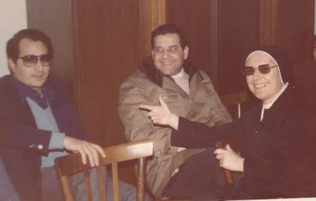 don Agostino Giovinazzo, don Gildo Albanese e suor Teresa