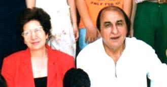Rocco Di Matteo e la sig.ra Teresa