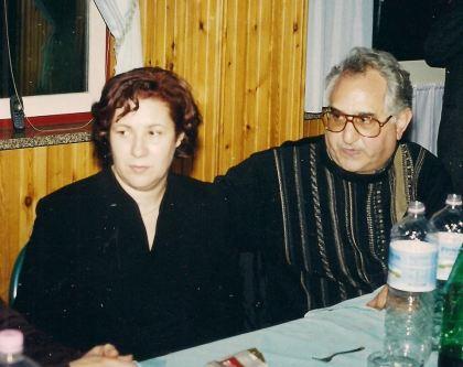 Dott.ssa Carmelina Massara e Don Agostino Giovinazzo