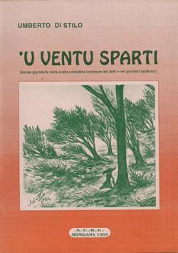 """Copertina """"U ventu sparti"""" di Umberto Di Stilo"""