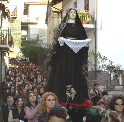 Via Crucis a Galatro