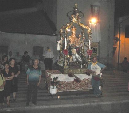 Madonna della Montagna al catafalco