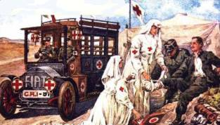 Croce rossa nei soccorsi di guerra