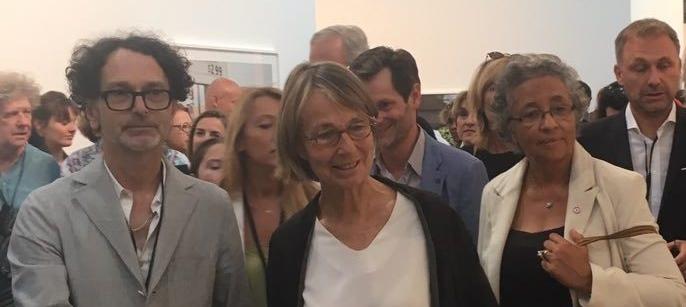 Françoise Nyssen, Pdg d'Actes Sud, ex ministre de la culture d'Emmanuel Macron, lors des rencontres de la photographie en Arles