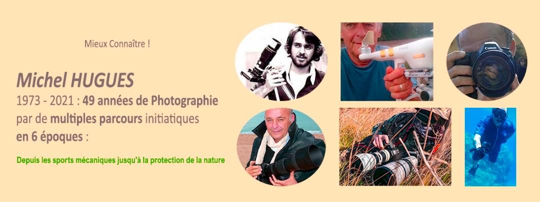 Biographie Michel HUGUES en Camargue - Workshops - www.michelhugues.com