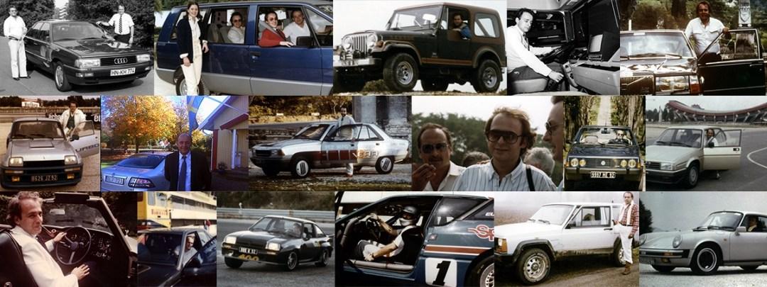 1978 - 1985 - Presse magazine spécialisée essais nouveautés automobiles et tests routiers comparatifs dans la presse automobile- Michel HUGUES - www.michelhugues.com