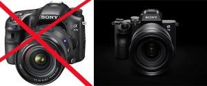 EQUIPEMENTS PHOTOGRAPHIQUES: la marque SONY ne produira plus jamais de boitiers REFLEX - www.michelhugues.com