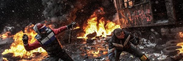Violent Protesters in Ukraine