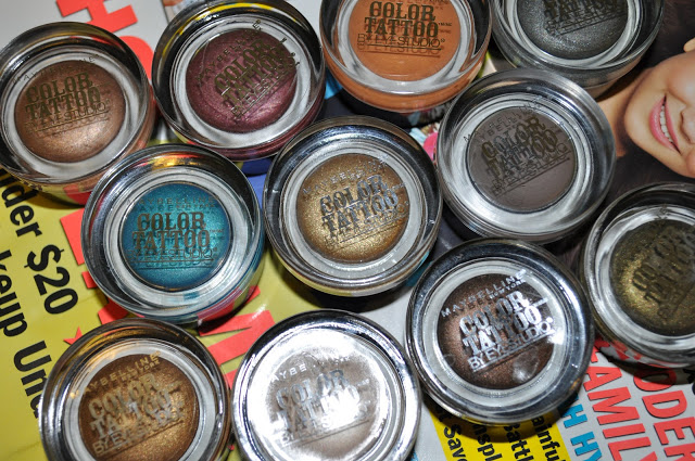 Review: Maybelline Color Tattoo 24hr Eyeshadow